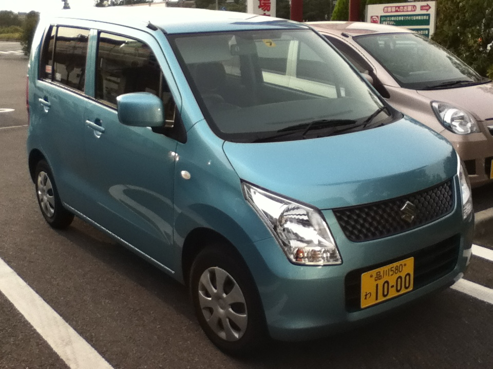 The noble steed I drove in Tokyo.